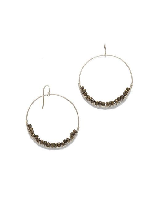 SIMONE JEANETTE | Metallic Adrianna Earrings | Lyst