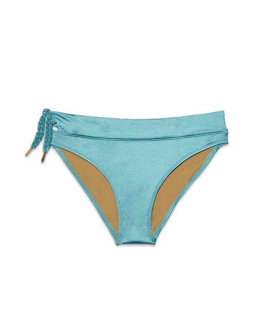 Marlies Dekkers - Holi Glamour Mid Rise Bikini Bottom - Aqua Blue - Lyst