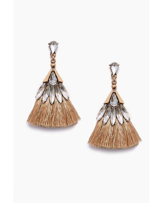 Jonesy Wood - Penelope Earrings - Brown - Lyst
