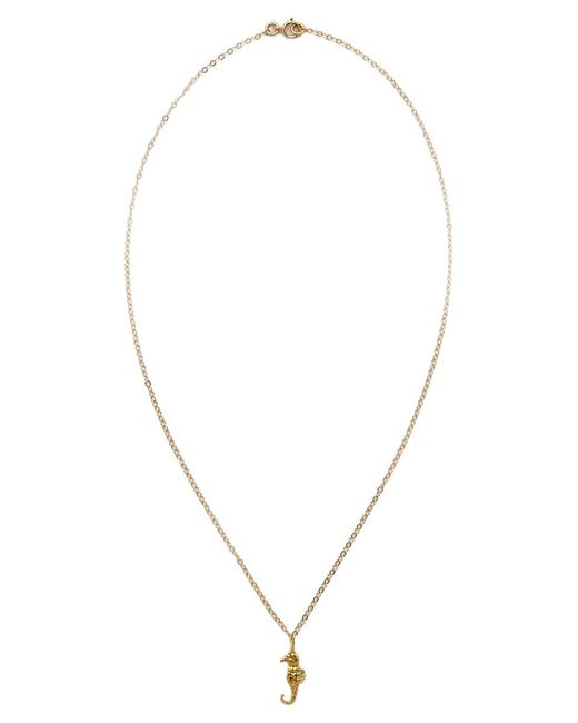 TATIANA KATZOFF | Metallic Seahorse Necklace | Lyst