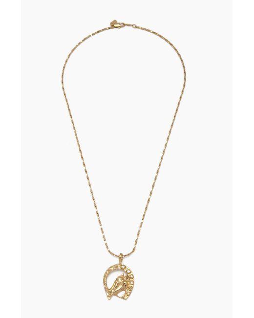 Vanessa Mooney - Metallic Horse Shoe Necklace - Gold - Lyst