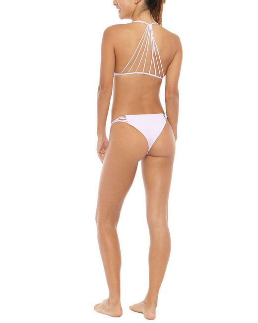Mikoh Swimwear | Purple Lanai Bottom | Lyst