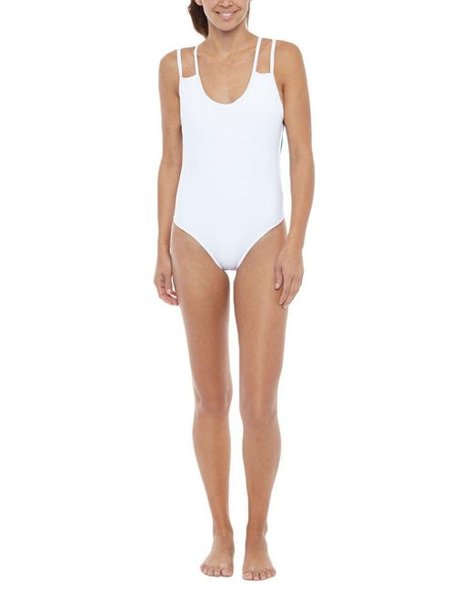 Kovey - White The Rainbow Line Up One Piece - Lyst