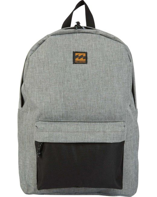 Lyst - Billabong All Day Backpack in Gray for Men - Save 49% 07a32024ad