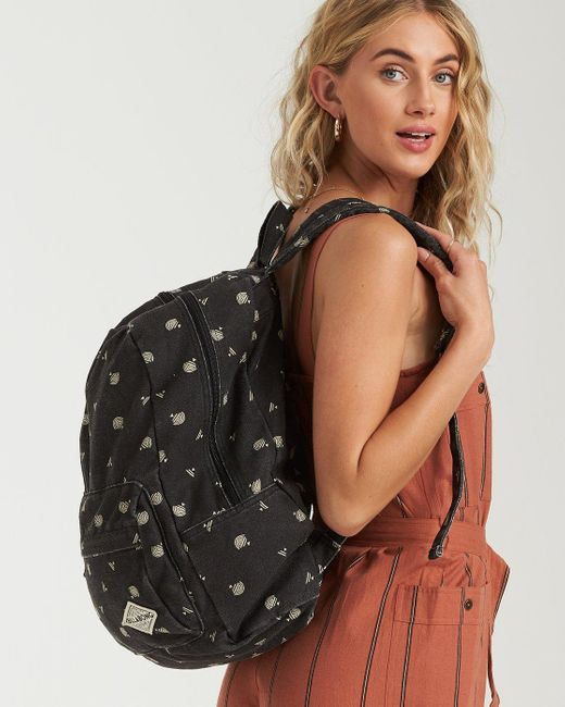 Billabong Black Hand Over Love Backpack