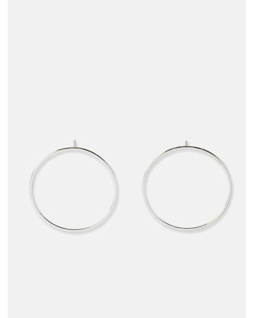 we11made - Metallic Big Circle Earrings - Lyst