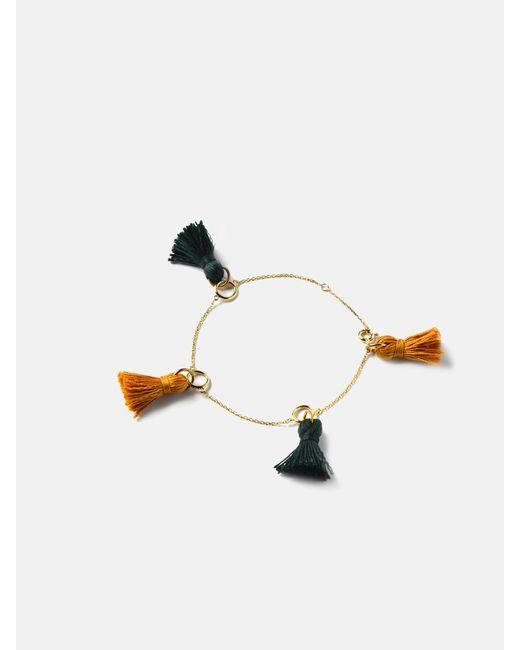 we11made | Multicolor 2 Color Tassel Bracelet | Lyst
