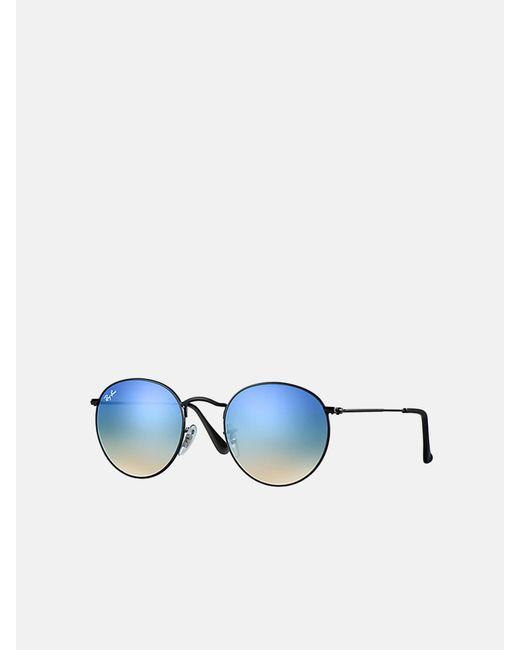 Ray-Ban Blue Round F Gradient_rb3447 002/4o