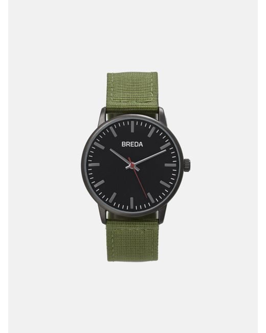 Breda Valor_ Gunmetal/green for men