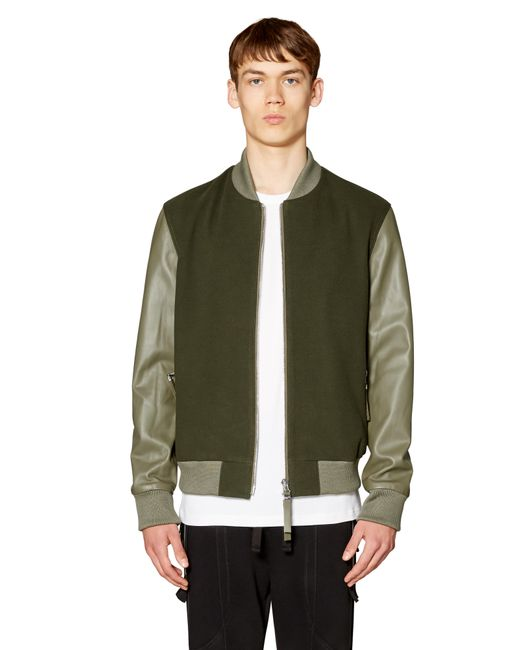 Blood Brother | Natural Alpha Khaki Bomber In Khaki for Men | Lyst