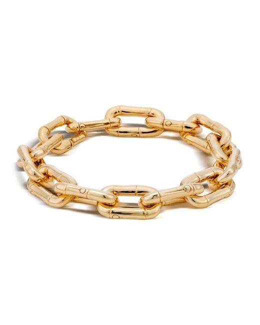 John Hardy - Metallic Bamboo 18k Gold Small Link Bracelet - Lyst
