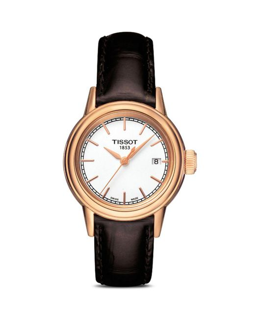 Tissot Brown Carson Watch