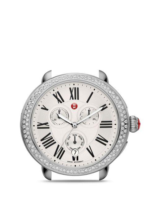 Michele Metallic Serein Diamond Watch Head