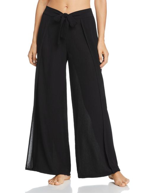 Becca - Black Modern Muse Swim Cover - Up Pants - Lyst