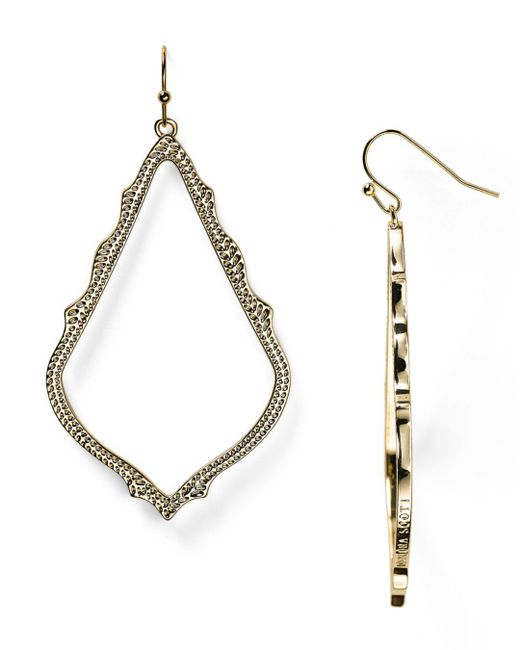 Kendra Scott Metallic Sophee Drop Earrings