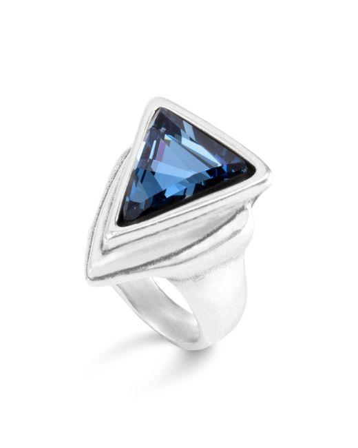Uno De 50 | Blue Swarovski Crystal Ring | Lyst