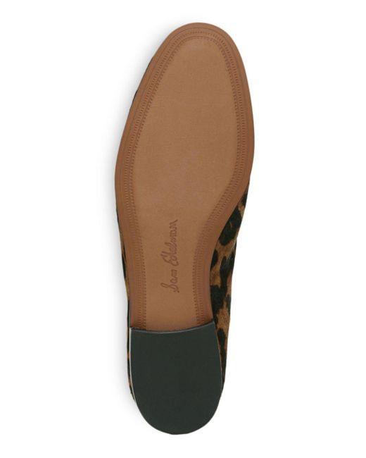 1b84157fca2b ... Lyst Sam Edelman - Brown Women's Loraine Printed Calf Hair Loafers ...