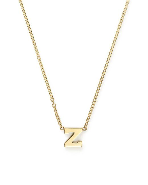 "Zoe Chicco - Metallic 16"" - Lyst"