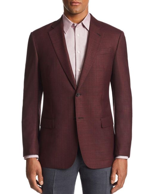 Armani Emporio G - Line Textured Tailored Fit Jacket for men
