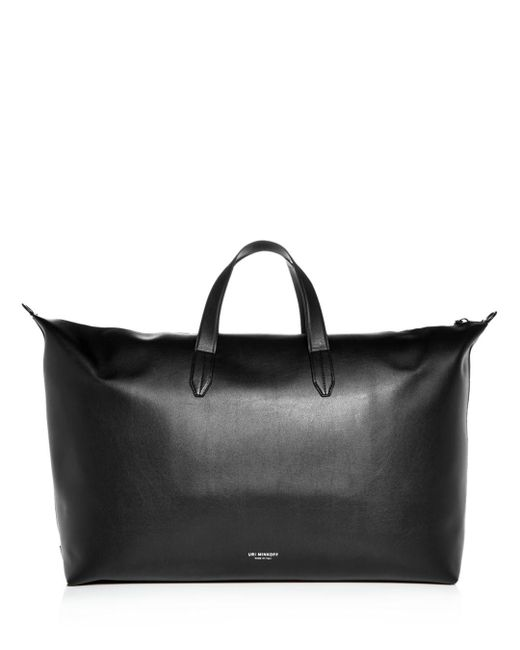 d9d96f53a275 ... Uri Minkoff - Black Grove Leather Weekender Bag for Men - Lyst