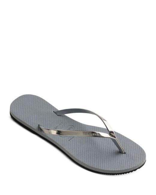 Havaianas Women's You Metallic Slim Flip - Flops