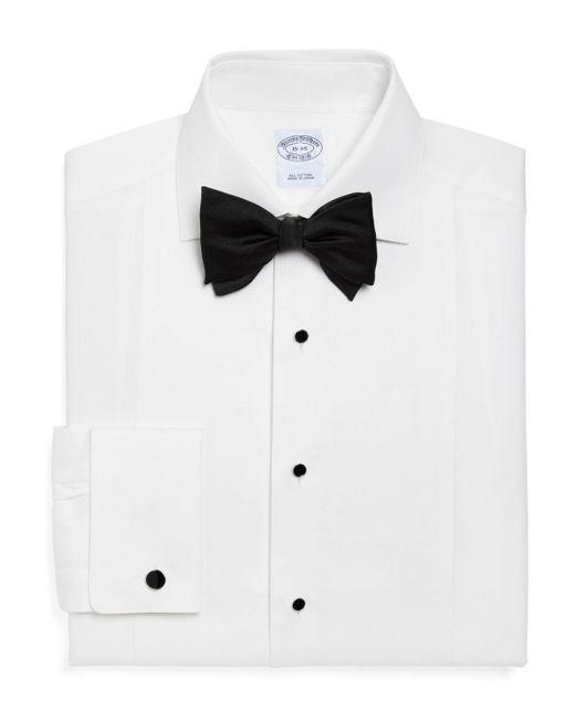 Brooks Brothers - White Pique Bib Classic Fit Tuxedo Shirt for Men - Lyst