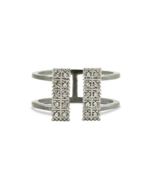 Freida Rothman - Metallic Open Cuff Ring - Lyst