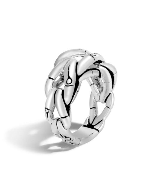 John Hardy - Metallic Sterling Silver Bamboo Ring - Lyst