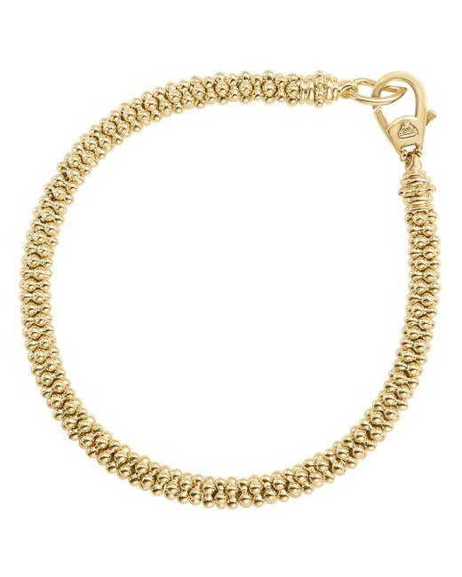 Lagos - Metallic Caviar Gold Collection 18k Gold Bracelet - Lyst