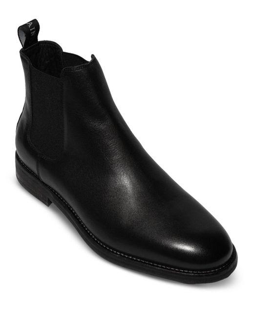 AllSaints Black Harley Pull On Chelsea Boots for men