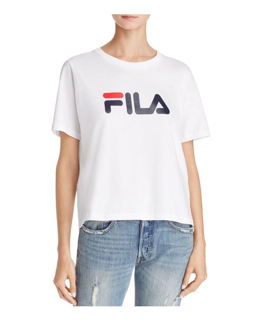 Fila - White Miss Eagle Tee - Lyst