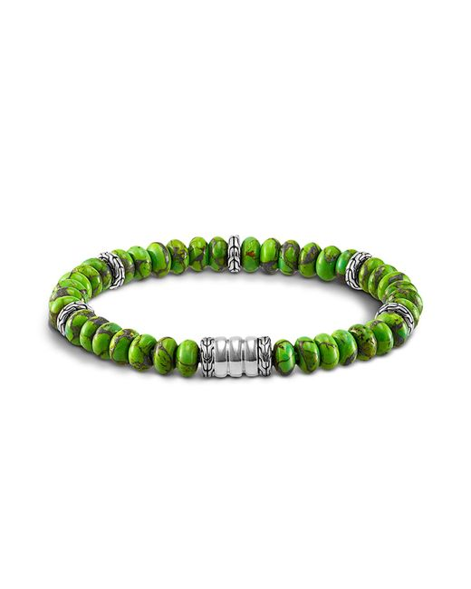 John Hardy | Green Mohave Bedeg Men's Beaded Bracelet for Men | Lyst
