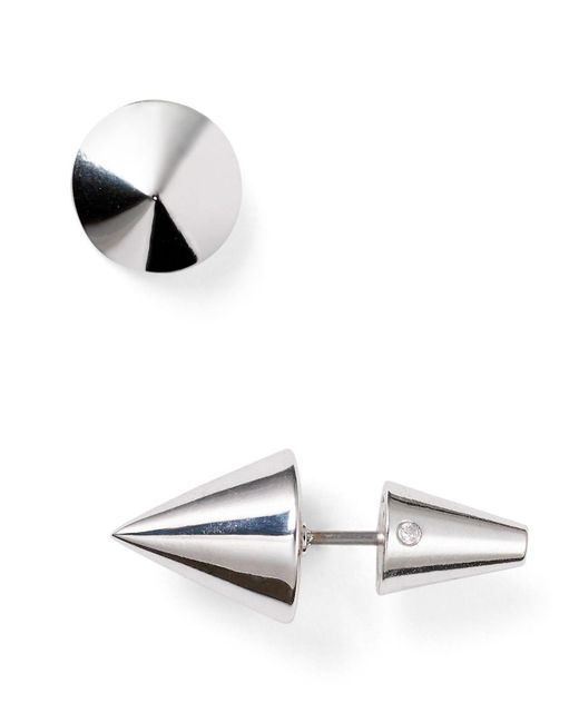 Eddie Borgo | Metallic Cone Stud Earrings | Lyst