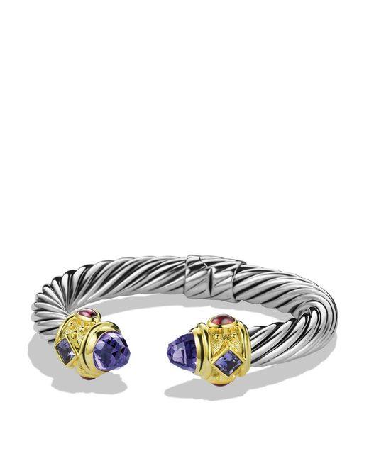 David Yurman | Purple Iolite & Gold | Lyst