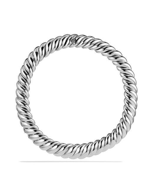 David Yurman | Metallic Hampton Cable Necklace | Lyst