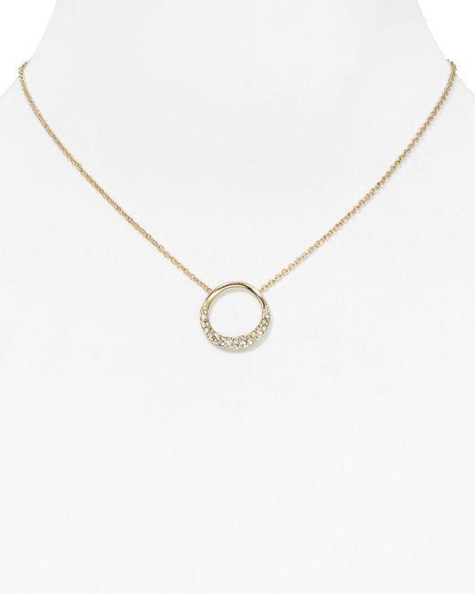 "Alexis Bittar | Metallic Miss Havisham Small Aura Pendant Necklace, 16"" | Lyst"