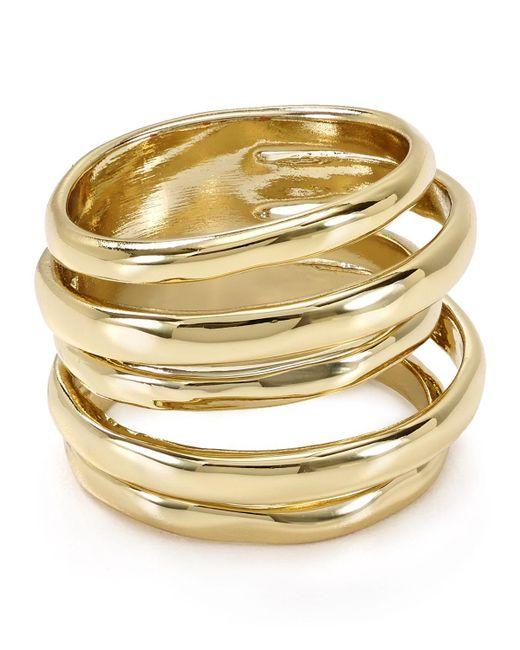 Alexis Bittar | Metallic Miss Havisham Layered Ring | Lyst