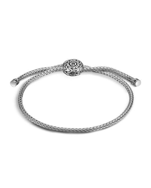 John Hardy Metallic Classic Chain Silver Knot Bracelet