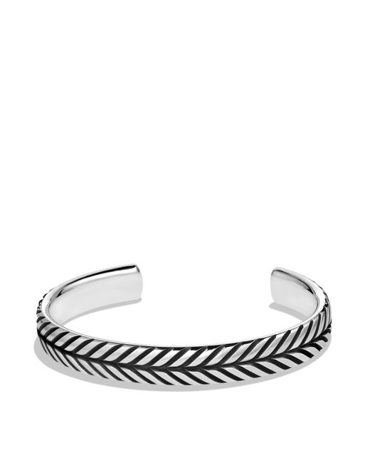 David Yurman | Metallic Modern Chevron Cuff Bracelet for Men | Lyst