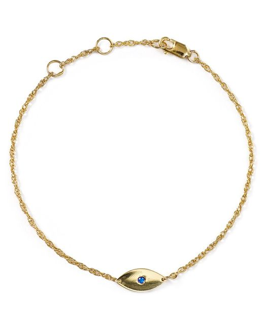 Jennifer Zeuner | Metallic Nazar Mini Evil Eye Bracelet | Lyst