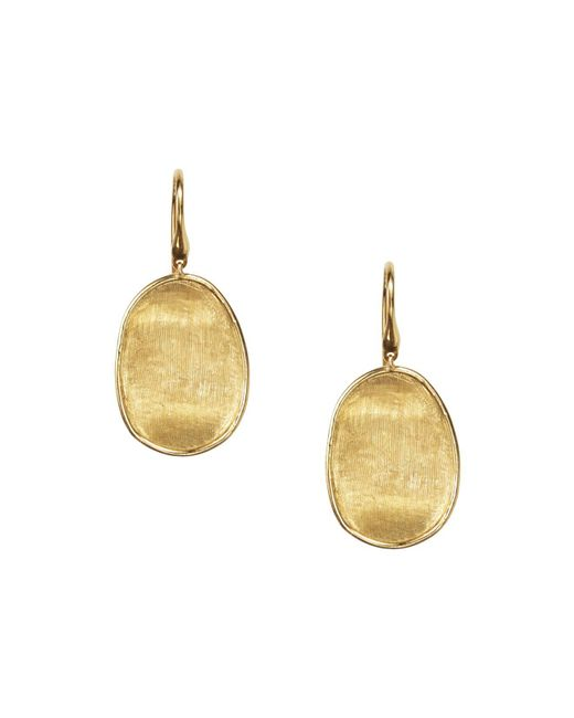Marco Bicego | Metallic 18k Yellow Gold Lunaria Drop Earrings | Lyst