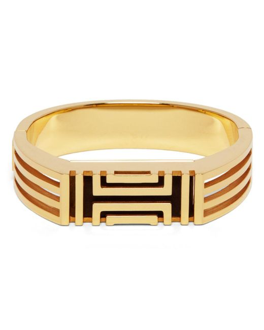 Tory Burch   Metallic For Fitbit Caged Metal Bangle   Lyst