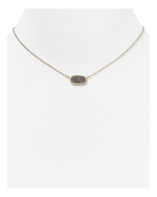Kendra Scott | Metallic Elisa Drusy Necklace, 15"