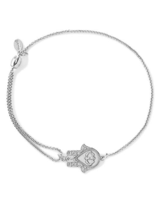 ALEX AND ANI | Metallic Precious Metals Symbolic Hand Of Fatima Pull Chain Bracelet | Lyst