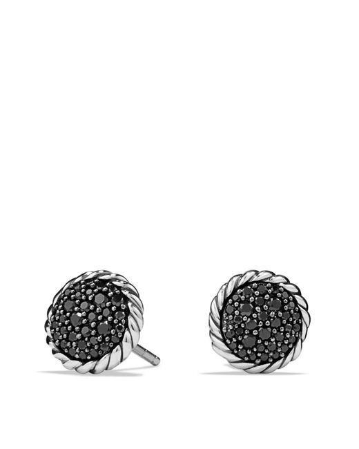 David Yurman | Metallic Châtelaine Pavé Earring With Black Diamonds | Lyst
