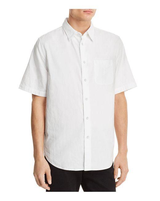Rag & Bone - White Standard Issue Beach Regular Fit Button-down Shirt for Men - Lyst