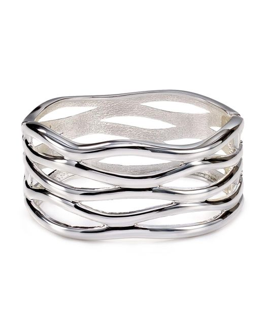 Robert Lee Morris | Metallic Open-weave Bangle | Lyst