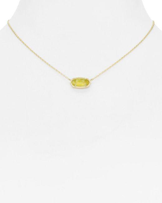 Kendra Scott Multicolor Elisa Birthstone Necklace