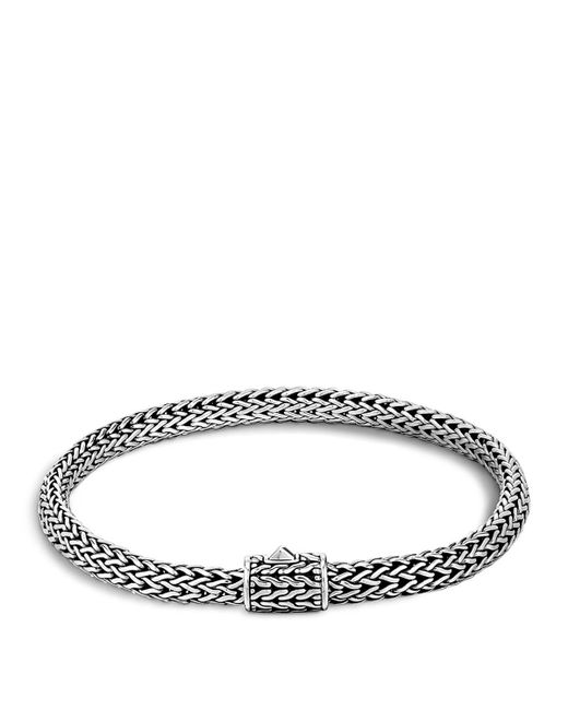 John Hardy | Metallic Classic Chain Sterling Silver Extra Small Bracelet for Men | Lyst