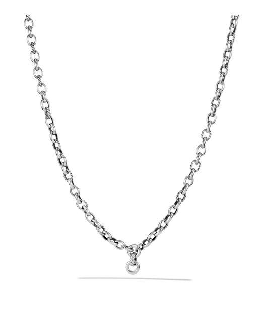 David Yurman | Metallic Oval Link Chain Necklace | Lyst